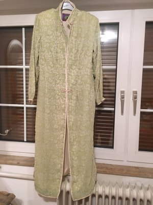 Dressing Gown pale green-lime-green