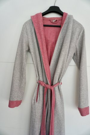 Dressing Gown light grey-light pink