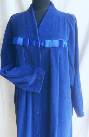 Szlafrok ciemnoniebieski-niebieski Poliakryl