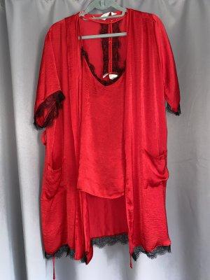 Love to lounge Vesti da camera rosso scuro