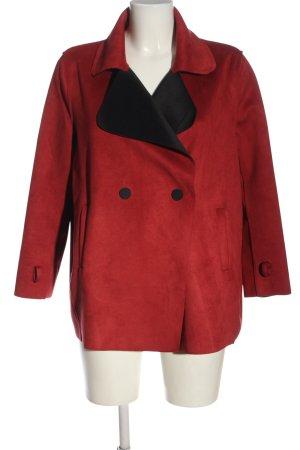 Morghy Art Stylist Kurtka oversize czerwony W stylu casual