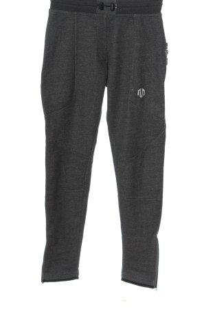MOROTAI Pantalon de jogging noir moucheté style décontracté