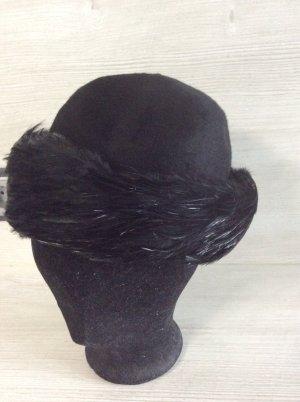 Morreton Cloche Hat black