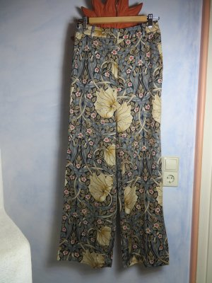 Morris&Co for H&M Palazzo Pants - Floral Pants - Größe S - Weite Stoffhose aus 100% Viskose/Lyocell -neuwertig