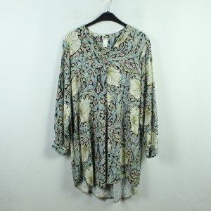 H&M Morris & Co Vestido tipo túnica multicolor Viscosa