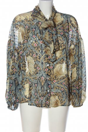 Morris & Co x H&M Langarm-Bluse