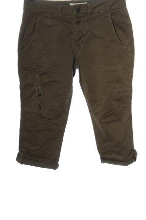 Mos Mosh Pantalon 3/4 brun style décontracté