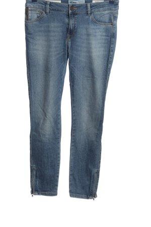 Mos Mosh Jeans 7/8 bleu style décontracté