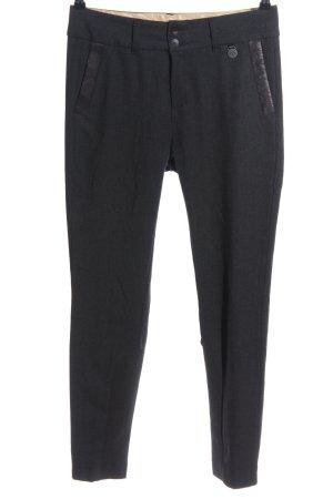 Mos Mosh Pantalón de vestir gris claro moteado estilo «business»