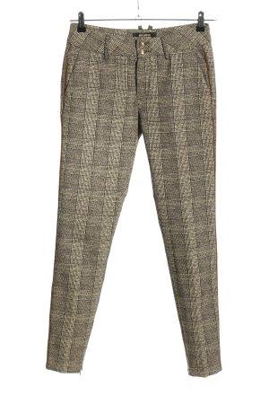 Mos Mosh Pantalone da abito grigio chiaro stampa integrale stile professionale