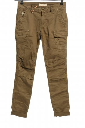 Mos Mosh Cargo Pants brown casual look