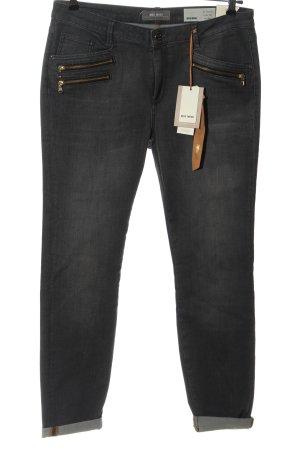 Mos Mosh Slim Jeans hellgrau Casual-Look