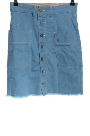 Mos Mosh Jeansrock blau Casual-Look