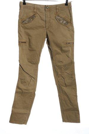 Mos Mosh Pantalon kaki brun style décontracté