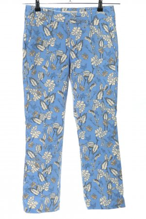 Mos Mosh Tailleur blu-bianco stampa integrale stile casual