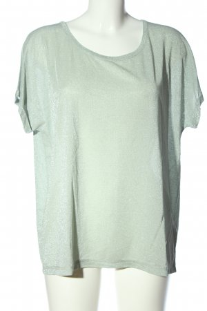 Mos Mosh Kurzarm-Bluse grün Casual-Look