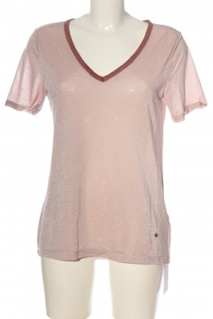 Mos Mosh Kurzarm-Bluse pink Casual-Look