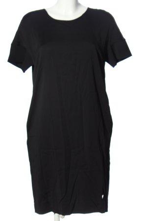 Mos Mosh Robe à manches courtes noir style décontracté