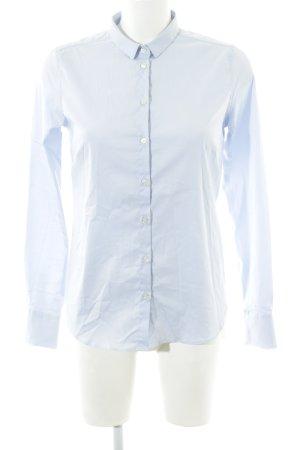 Mos Mosh Langarmhemd himmelblau schlichter Stil
