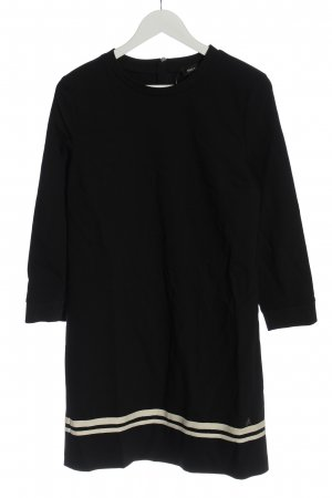 Mos Mosh Robe à manches longues noir style décontracté