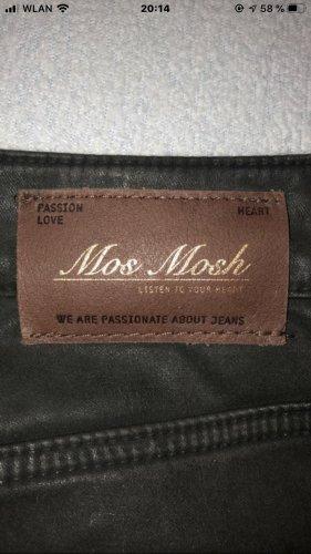 Mos Mosh Jeansy typu biker ciemnoszary