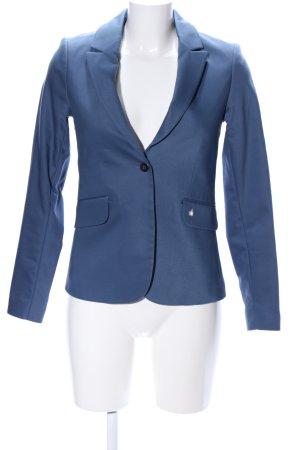 Mos Mosh Lange blazer blauw zakelijke stijl