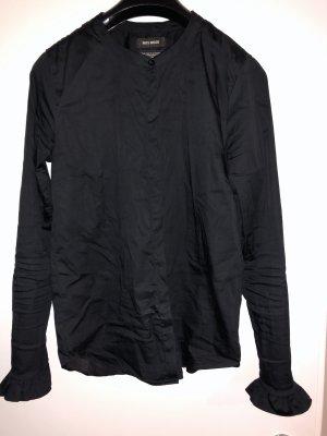 Mos Mosh Ruche blouse zwart