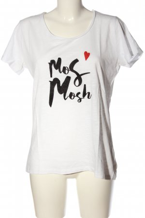 Mos Mosh Print-Shirt Motivdruck Casual-Look