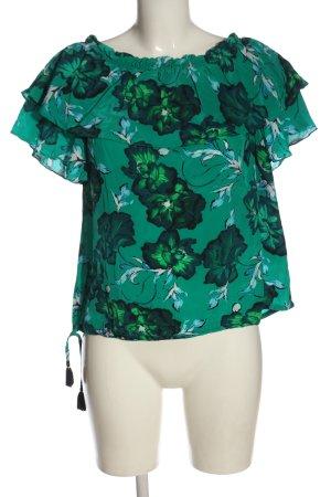 Mos Mosh Schlupf-Bluse Blumenmuster Casual-Look