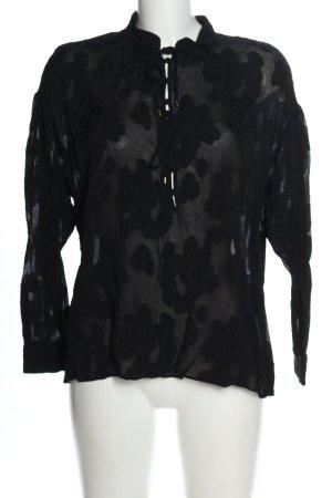 Mos Mosh Schlupf-Bluse schwarz Elegant
