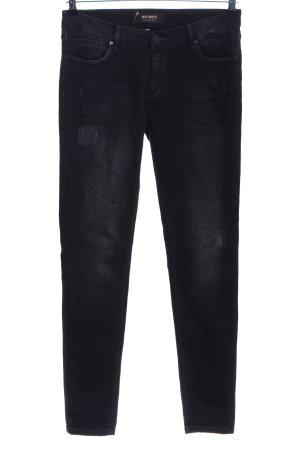 Mos Mosh Skinny Jeans schwarz Casual-Look