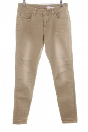 Mos Mosh Skinny Jeans camel Casual-Look