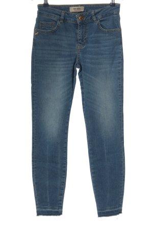 Mos Mosh Slim Jeans blau Casual-Look