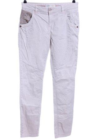 Mos Mosh Slim Jeans weiß Casual-Look