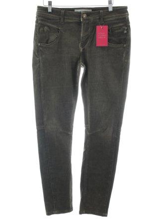 Mos Mosh Slim Jeans graubraun Casual-Look