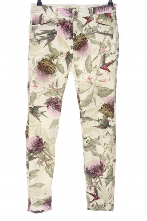 Mos Mosh Stoffhose Allover-Druck Casual-Look