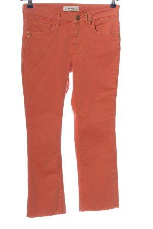 Mos Mosh Straight-Leg Jeans hellorange Casual-Look