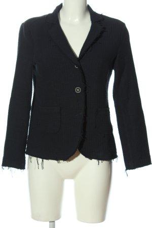 Mos Mosh Knitted Blazer black casual look