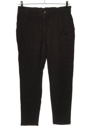 Mos Mosh Sweat Pants black themed print casual look