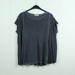 Mos Mosh Camisa holgada gris pizarra Viscosa