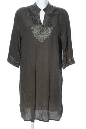 Mos Mosh Vestido tipo túnica caqui look casual