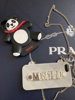 Moschino Mobile Phone Case black-nude
