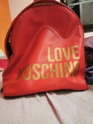 Love Moschino Backpack Trolley dark red