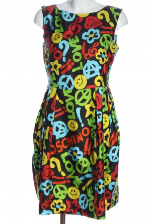 Moschino A Line Dress allover print casual look