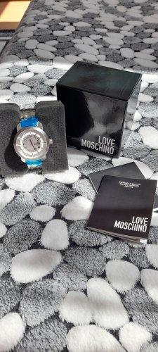 Love Moschino Montre avec bracelet métallique gris clair