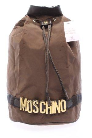 Moschino Beuteltasche braun Casual-Look