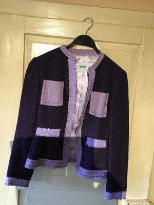 Boutique Moschino Wool Blazer purple wool