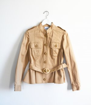 Moschino Safari Jacket beige cotton