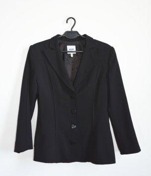 Moschino Blazer Jacket schwarz mit Herz knöpfen IT 44