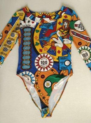 MOSCHINO Body Gr.40 Langarm Extravagant Slot Machine Casino Pinball Wizard